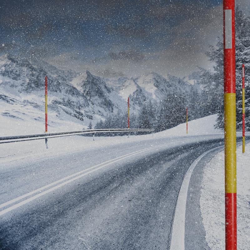 Snow pole